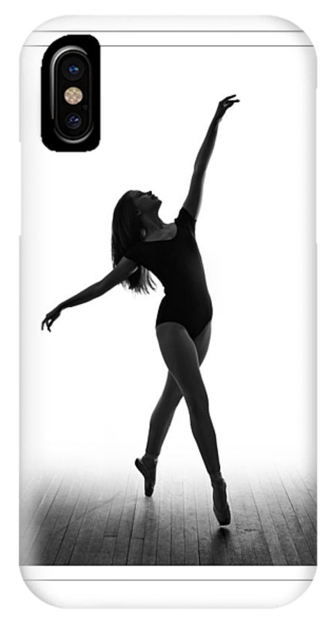 Ballet IPhone X Case featuring the photograph Sweet Dreams by Wayne Tarr