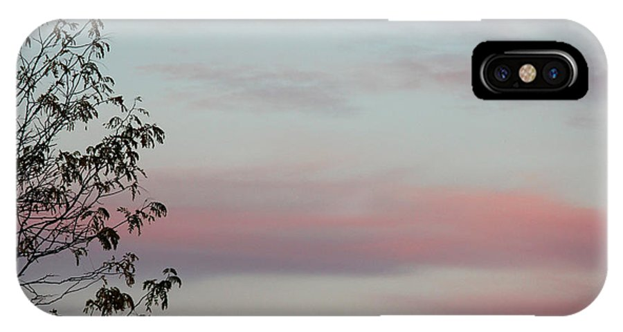 Trees IPhone X Case featuring the photograph Sweet Isolation by The Art Of Marilyn Ridoutt-Greene