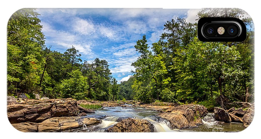 Creek IPhone X Case featuring the photograph Sweetwater Creek I by Bernd Laeschke