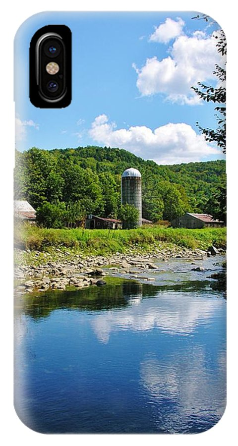 Swimming Hole IPhone X Case featuring the photograph Swimming Hole by Sherman Perry