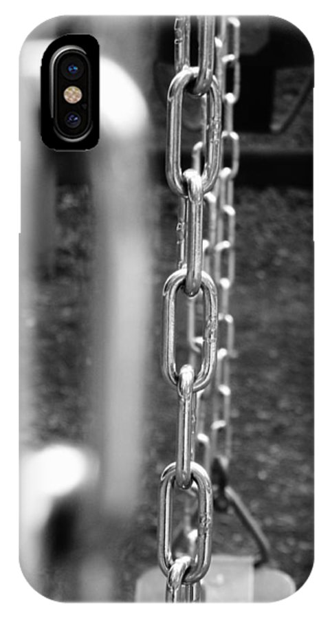 Swing IPhone X Case featuring the photograph Swing by Jennifer Wartsky