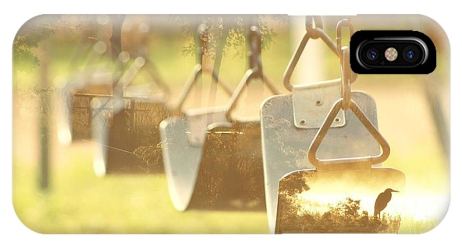 Swing. Nature IPhone X Case featuring the photograph Swing With Nature by Treesha Duncan