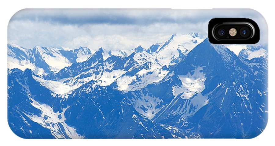 IPhone X Case featuring the photograph Swiss Alps by Elizabeth-Anne King