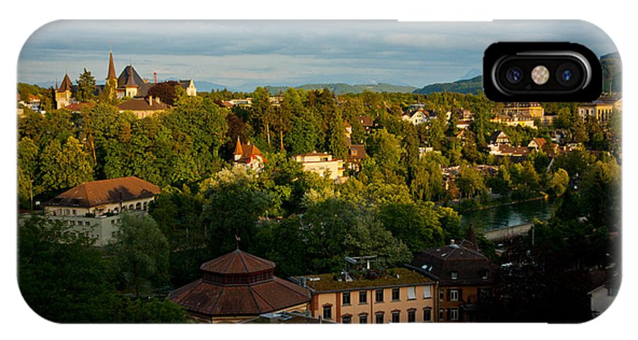 Bern IPhone X Case featuring the photograph Switzerland Countryside by Anthony Doudt