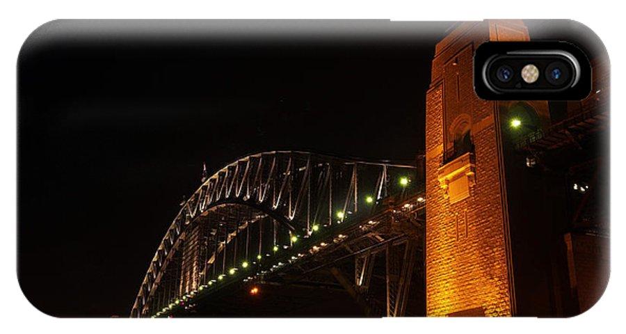 Sydney IPhone X Case featuring the photograph Sydney Harbour Bridge by Kaleidoscopik Photography