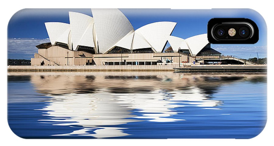 Sydney Opera House IPhone X / XS Case featuring the photograph Sydney Icon by Sheila Smart Fine Art Photography
