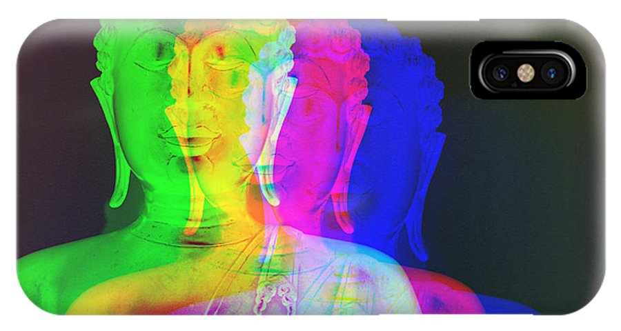 Surreal IPhone X Case featuring the photograph Synchronisty by Bobbie Barth