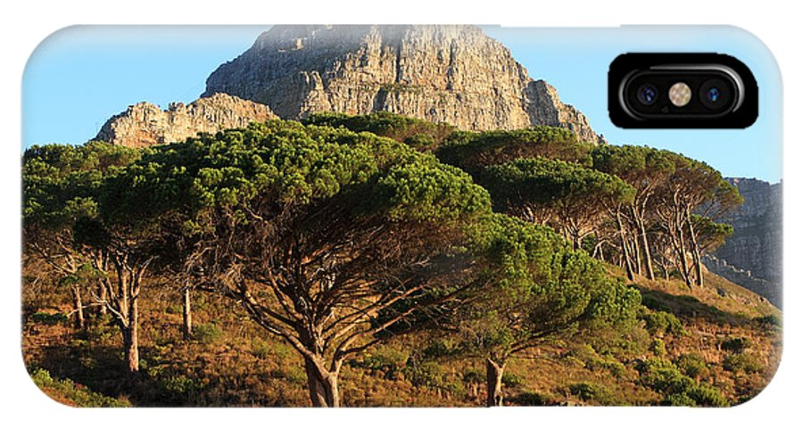 Africa IPhone X Case featuring the photograph Table Mountain View by Aidan Moran
