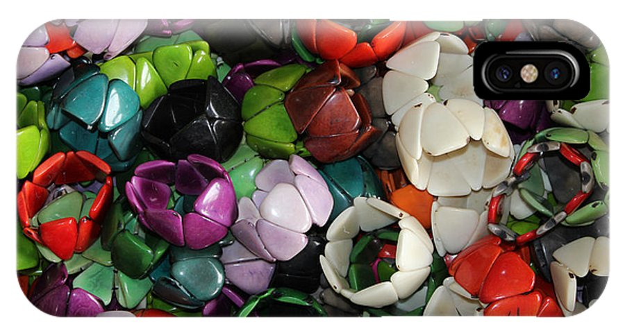 Tagua IPhone X Case featuring the photograph Tagua Nut Bracelets by Robert Hamm