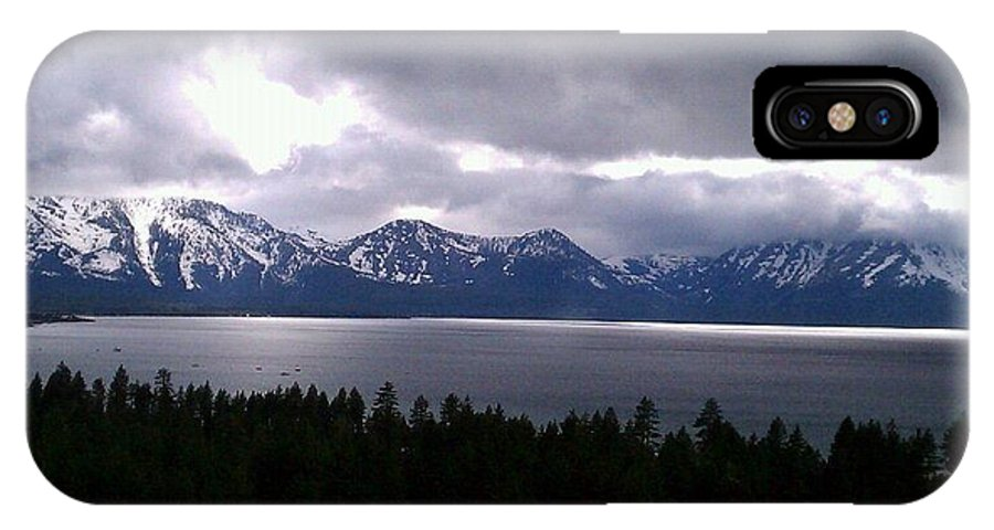 Landscape IPhone X Case featuring the photograph Tahoe Winter by Kevin Brown