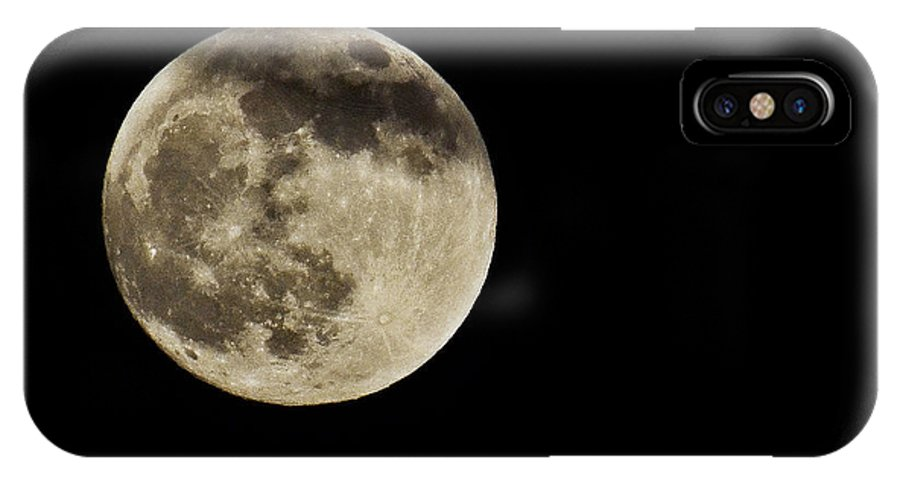 Moon IPhone X Case featuring the photograph Take Me To The Moon by Saija Lehtonen