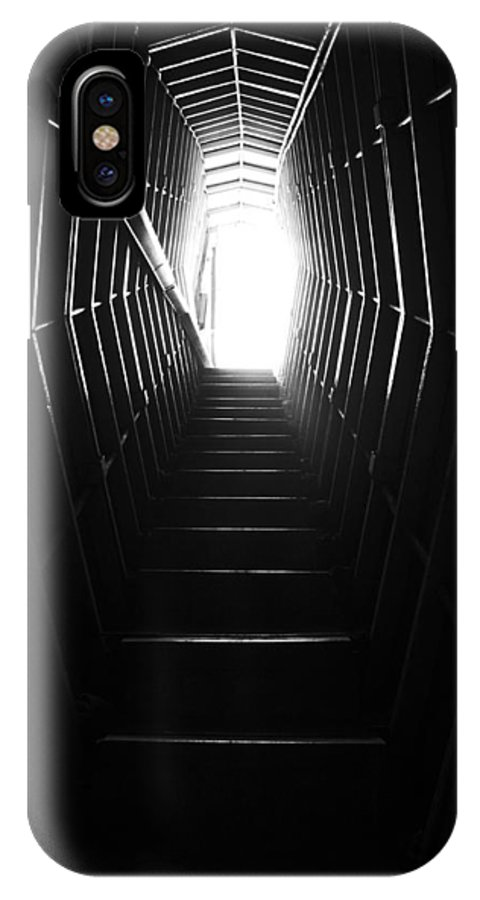 Stairs IPhone X Case featuring the photograph Take The Stairs. by Nathan Engel