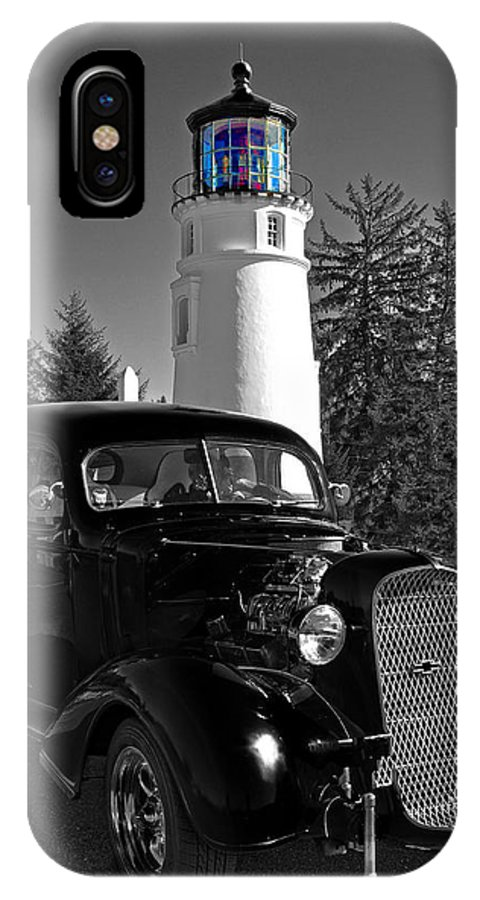 Umpqua IPhone X Case featuring the photograph Taking A Drive by Image Takers Photography LLC - Laura Morgan