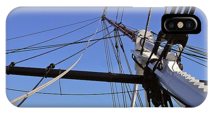 Ship IPhone X Case featuring the photograph Tall Ship Iv by Mark McKinney