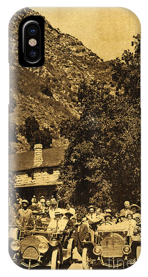 Tassajara Hot Springs IPhone X / XS Case featuring the photograph Tassajara Hot Springs Monterey County Calif. 1915 by California Views Archives Mr Pat Hathaway Archives