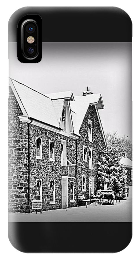 Saucon Valley IPhone X Case featuring the photograph Tavern Room Within by DJ Florek