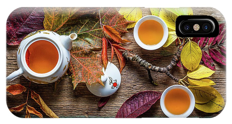 Fall IPhone X Case featuring the photograph Tea Of September by Stanislav Aristov