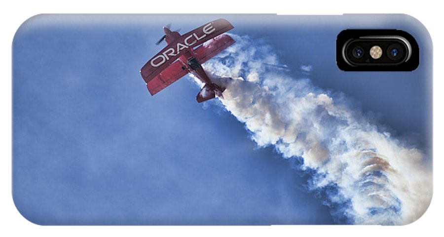Sean D. Tucker IPhone X Case featuring the photograph Team Oracle V9 by Douglas Barnard