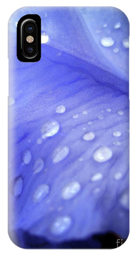 Tears IPhone X Case featuring the photograph Tears by Molly McPherson