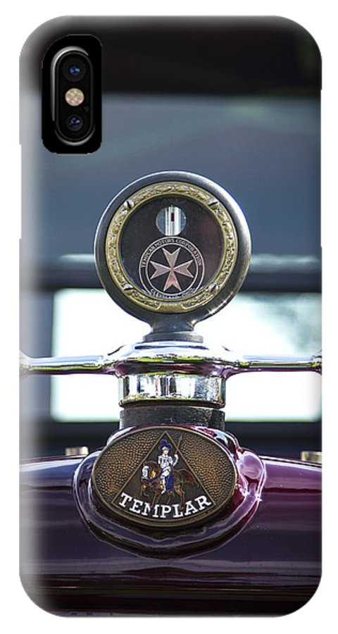 Glenmoor IPhone X Case featuring the photograph Templar by Jack R Perry