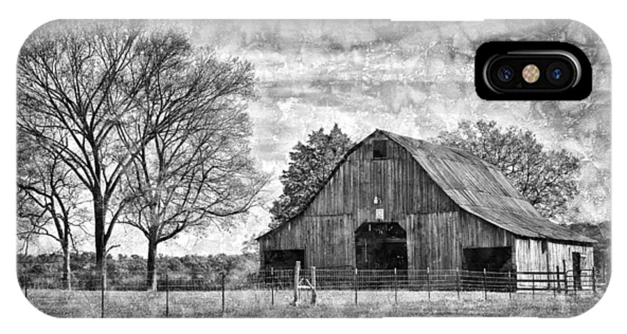 Barn IPhone X Case featuring the photograph Tennessee Barn by Diana Powell