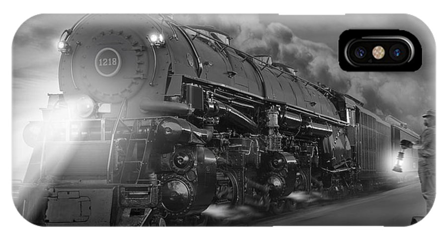 Transportation IPhone X Case featuring the photograph The 1218 On The Move 2 by Mike McGlothlen