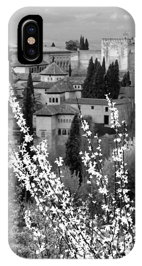 Andalucia IPhone X Case featuring the photograph The Alhambra by Stephanie LeVeque