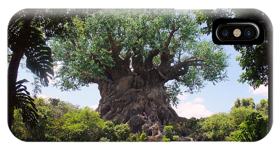 Animal Kingdom IPhone X Case featuring the photograph The Amazing Tree Of Life by Lingfai Leung