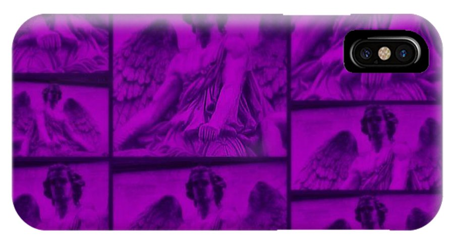 IPhone X Case featuring the digital art The Angels Friendship by Meiers Daniel