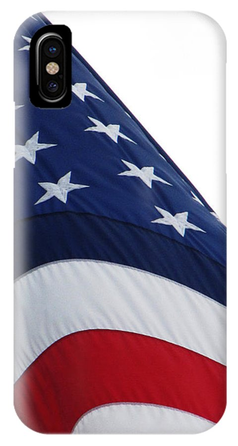 Ron Tackett IPhone X Case featuring the photograph The Angle You Play by Ron Tackett