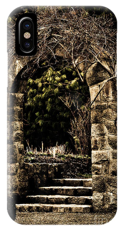 Arch IPhone X Case featuring the photograph The Archway by Venetta Archer