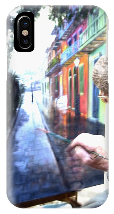 Artist IPhone X Case featuring the photograph The Artist by Anthony Walker Sr