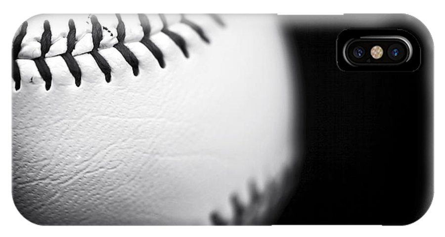 The Ball IPhone X Case featuring the photograph The Ball by John Rizzuto