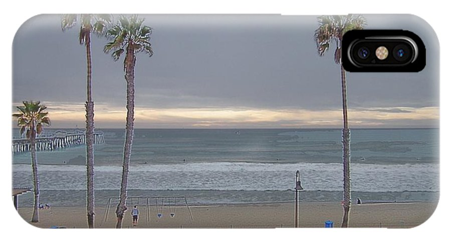 San Clemente IPhone X Case featuring the photograph The Beach by Ryan Wadsworth