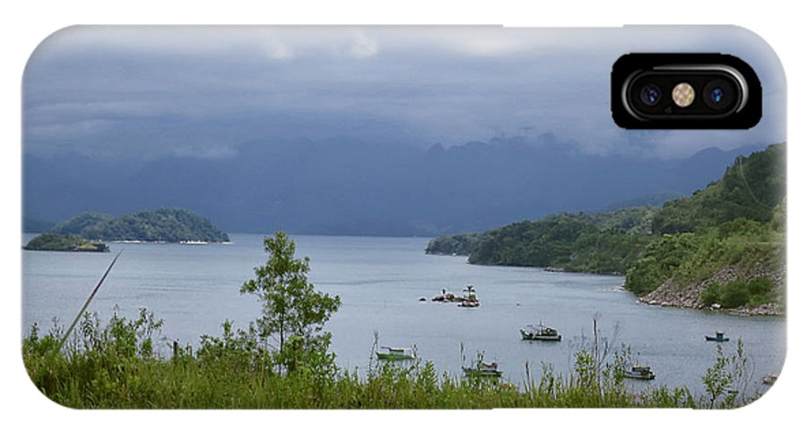 Brazil IPhone X Case featuring the photograph The Beauty Of Angra Dos Reis 5 by Muriel Levison Goodwin