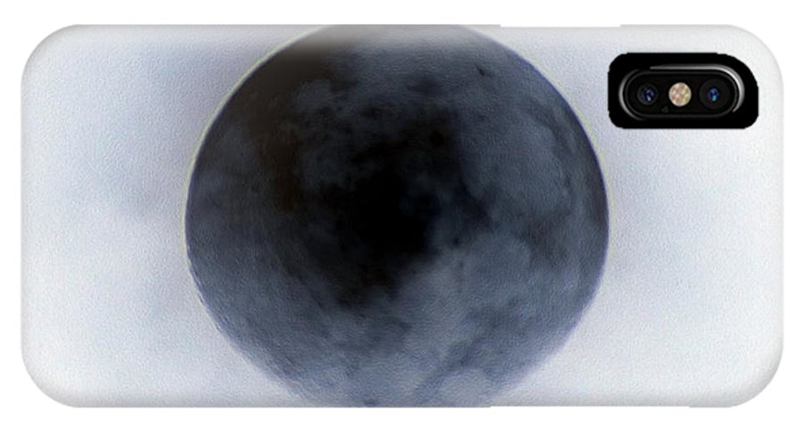 The Black Hole Of Greed IPhone X Case featuring the digital art The Black Hole Of Greed by Kim Pate
