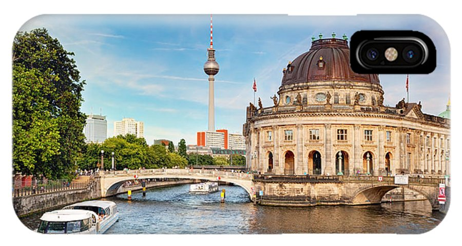 Germany IPhone X Case featuring the photograph The Bode Museum Berlin Germany by Michal Bednarek