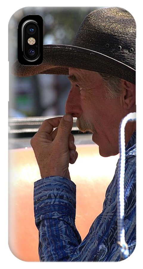 Driver IPhone X Case featuring the photograph The Buggy Driver by Anthony Walker Sr