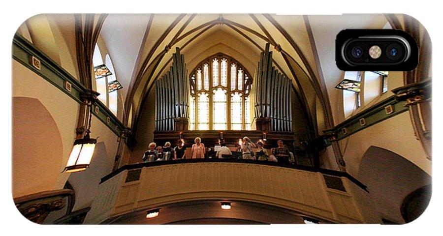 IPhone X Case featuring the photograph The Choir by Brian OSullivan