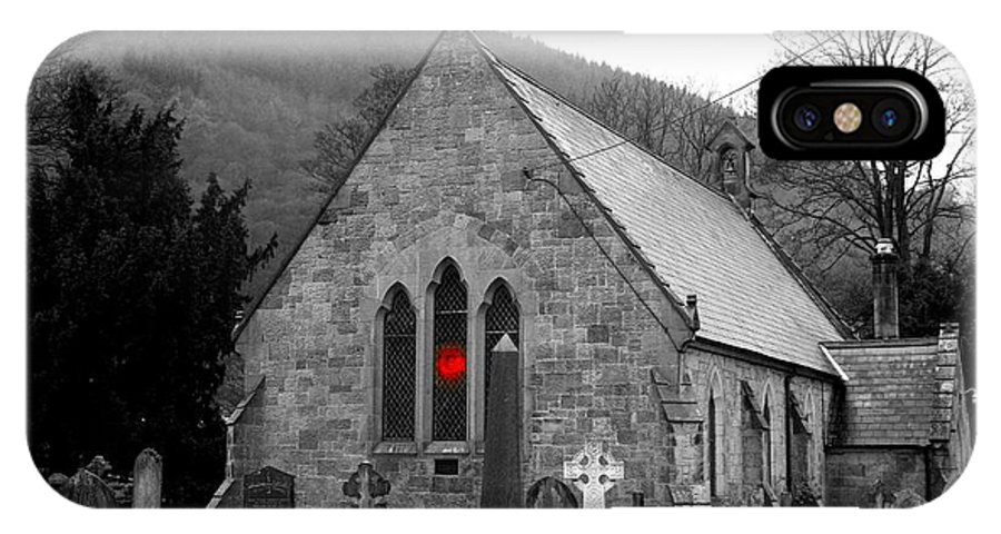 Church IPhone X Case featuring the photograph The Church by Christopher Rowlands