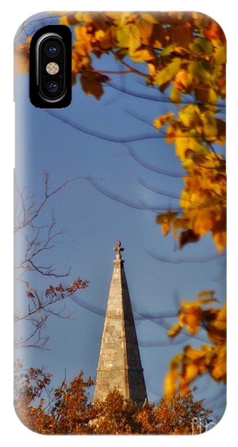 IPhone X Case featuring the photograph The Church In Goshen by Chet B Simpson