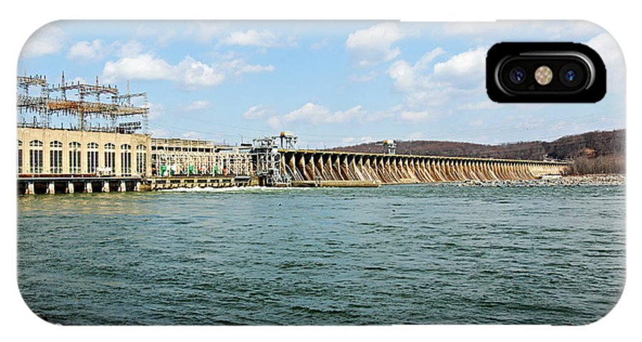 Conowingo Dam IPhone X Case featuring the photograph The Conowingo Dam by Trina Ansel