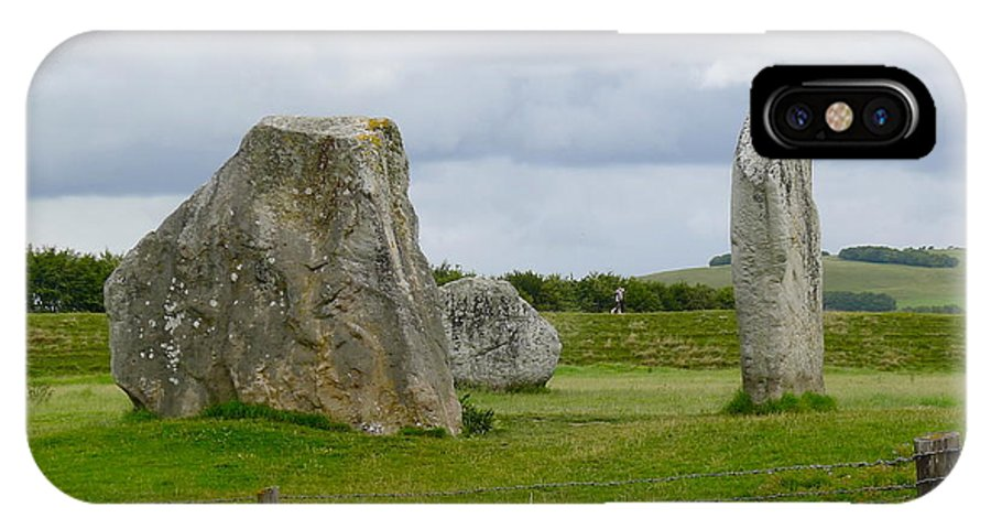 Avebury IPhone X Case featuring the photograph The Cove At Avebury by Denise Mazzocco