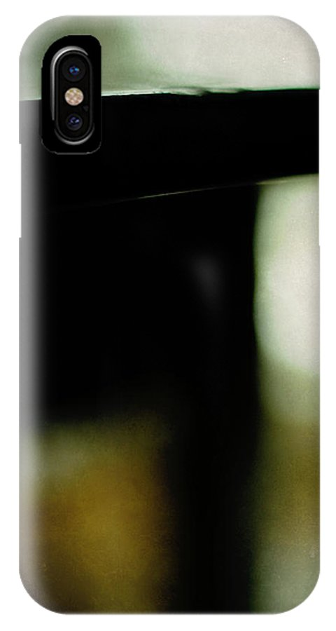 Art Deco IPhone X Case featuring the photograph The Deco Table by Rebecca Sherman