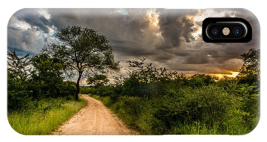 Road IPhone X Case featuring the photograph The Dirt Road by Andrew Matwijec