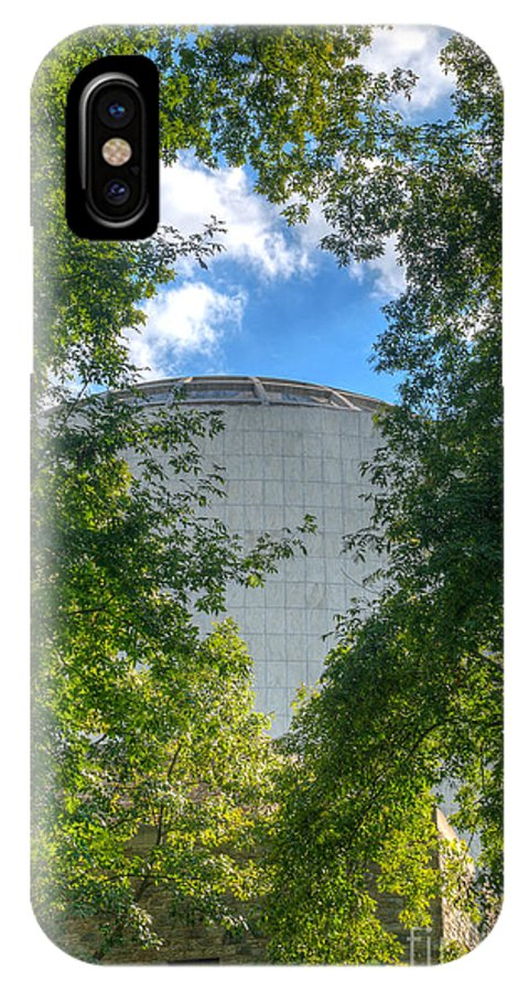 Founders IPhone X Case featuring the photograph The Dome by Mark Dodd