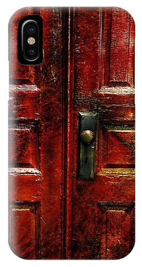 Doors IPhone X Case featuring the photograph The Doors by Toby Horton