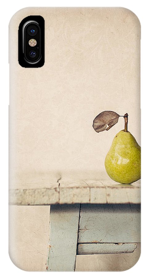 Pear IPhone X Case featuring the photograph The Exhibitionist by Amy Weiss