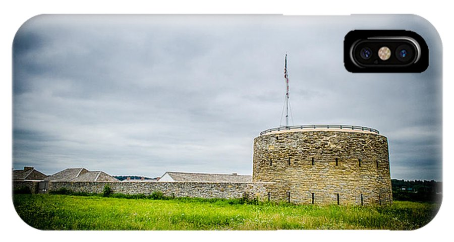 Fort Snelling IPhone X Case featuring the photograph The Fort by Melinda Weir