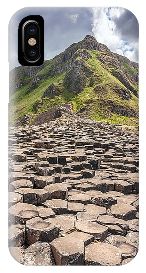 Giant's IPhone X Case featuring the photograph The Giant's Causeway In Northern Ireland by Pierre Leclerc Photography